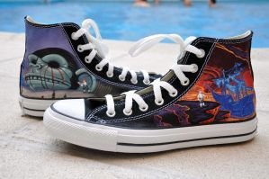 New Monkey Island chucks by Maya-Plisetskaya