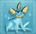 Vaporeon by BlueySerperior