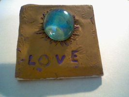 Love tile by Joy-Pedler