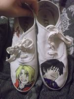 FMA Shoes by animenerd22