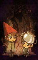 Over The Garden Wall by JoannaJohnen