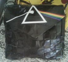 Duct tape :Dark Side: Purse by UnderCoverCottonswab