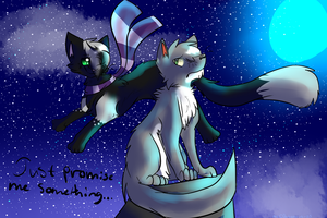 Promises + speedpaint by Darkstar-The-Great
