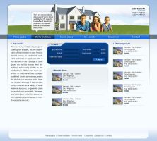 real estate site layout by nyezo