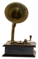 gramophone png by subliminal2012