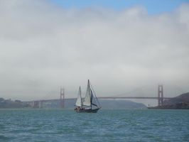 Sails in the bay by Mirag3-Photography