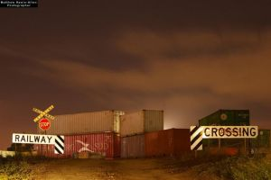 Railway Crossing by mattrawls