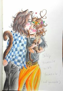 Ship yourself with yourself (and yourself) ! by Henori-cat