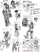 Edgar and Ellen - Style Research by sallychan