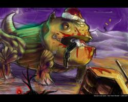 Beo-Spats New Years Monster by beonarri