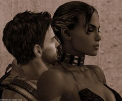 Sheva and Chris 2 by SonRuki