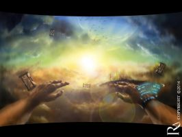 Falling Into Infinity First Person View by Rizkyawan