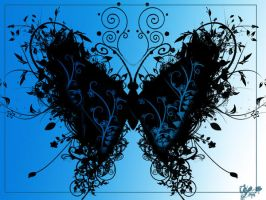 butterfly by lenileni