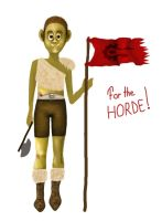 Orc child ^^ for the horde ! by GirlOfTheOcean