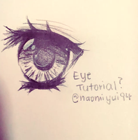 Eye Tutorial by naomiyui