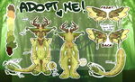 [CLOSED] ANGEL DRAGON AUCTION: Orchid jungle by Octochels-Adopts