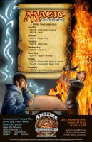 Magic: The Gathering Poster by lefthandedginger