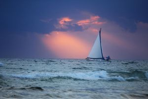 Sailing into the storm by HeathVideo