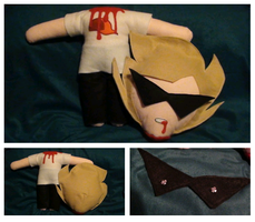 Headless!Dirk plushie by EddieDoezSewing