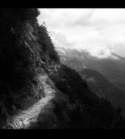 mountain footpath by Elly0001