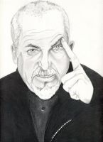 Peter Gabriel by JoeSoul