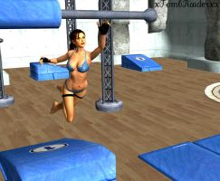 Evening at the Gym by XTombRaiderxx