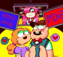 Soos and the real girl by Caramelkeks