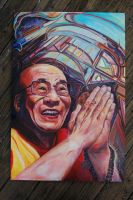 The Dalai Lama for Cookie by Chelovek