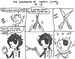 Adventures of Heroin Jimmy 13 by electricsorbet