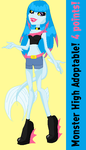 Monster High Adoptable #12 by DesuPanda98