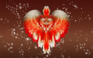 Feathered Heart Valentine by Frankief