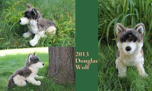 2013 wolf plush by Douglas by Laurel-Lion