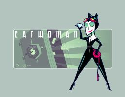 Catwoman - Character Art by DrewGreen
