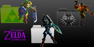 Zelda Majoras Mask Folder Pack by VanitusGamer