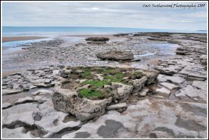 HDR Bad Wolf Bay Rocks by The-Rover