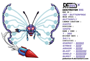 DeBUG 012 - Butterfree by Pokemon-FR
