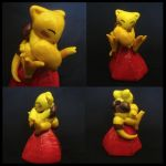 Abra TCG Sculpture by Eternal-Spring