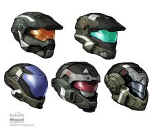 HALO: Reach Helmets by Scarlighter