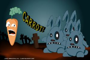 Zombie Rabbits by Himmlisch