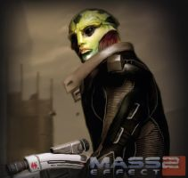 Thane Krios by zeebow14