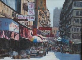 hong kong market by Oldfung