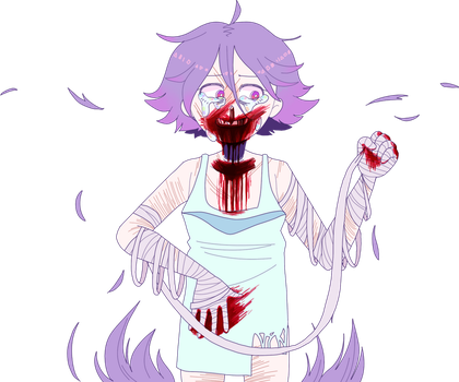 Hyperdontia (Gore/Blood) by GoatMomther
