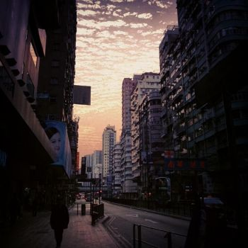 Early morning in Mong Kok (Hong Kong) by lolitalolly