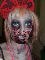 zombie by sophie-mortimer
