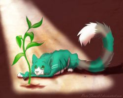 Green Things by x-RainFlame-x
