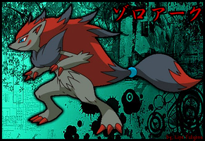 Zoroark by Lipefulgens