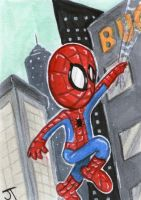 Here Comes Spider-Man by johnnyism