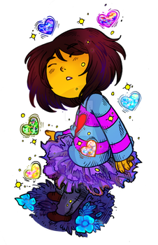 Frisk In Old Tutu by Mari-Golds