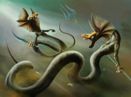 watersnakes DERKSRENEIcolor by soys