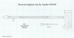 Dwarven Engineer Axe by Ironstaff